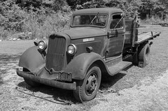 Dodge Brothers Truck (rschnaible (On Holiday)) Tags: hagood grist mill pickens county the south carolina outdoor old history historic dodge brothers truck bw black white photography monotone classic