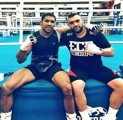 Anthony Joshua'ya Türk sparring partneri (haberihbarhatti) Tags: avrupa basın boks dünya savaş türk