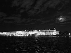 St. Petersburg (maryduniants) Tags: white light black blackandwhite russia stpetersburg sea gulf city dark night
