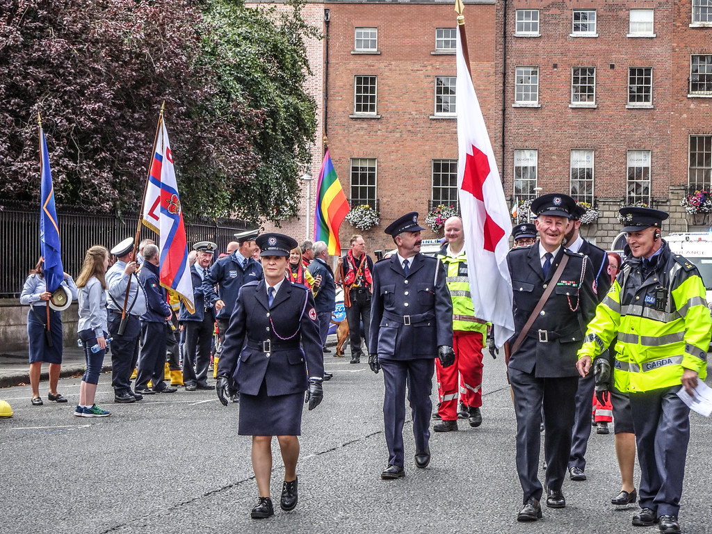 NATIONAL SERVICES DAY [PARADE STARTED OFF FROM NORTH PARNELL SQUARE]-143564
