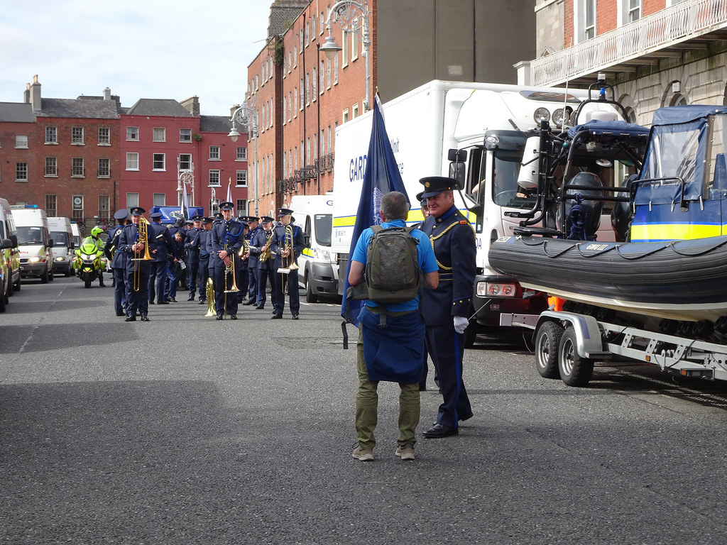 NATIONAL SERVICES DAY [PARADE STARTED OFF FROM NORTH PARNELL SQUARE]-143646