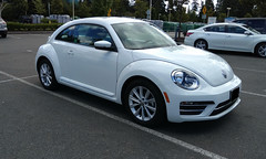 Volkswagen Beetle Turbo (AMAuto) Tags: volkswagen beetle turbo auto amauto car bug german dasauto automobile white coupe turbocharged
