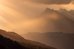 Golden Brown (DBPhotographe) Tags: alps french aiguilles chabrieres embrun serre poncon alpes hautes savines lac orres sunset couché mountain montagne reallon nisi filters