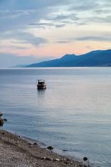Predvečernji pogled s Preluka (MountMan Photo) Tags: preluk rijeka opatija primorskogoranska croatia seascape more sea barka boat