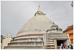 Stupa @ Buddhist Temple, Kelenia, Sri Lanka (Ramalakshmi Rajan) Tags: quotes nikon nikond5000 nikkor18140mm travel worship placesofworship temples temple stupa srilanka buddhism