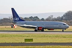 LN-RPL Boeing 737-883 SAS MAN 17-02-13 (PlanecrazyUK) Tags: lnrpl boeing 737883 sas man 170213 egcc manchester ringway manchesterairport
