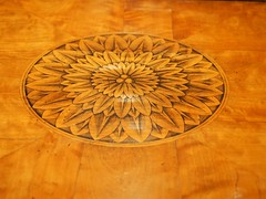 P8141704 (simonrwilkinson) Tags: nationaltrust worcestershire croomecourt croomepark commode wood inlay