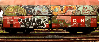 Graffiti on Freights