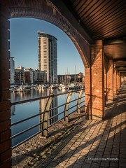 Meridian tower, Swansea Marina 2018 09 13 #1 (Gareth Lovering Photography 5,000,061) Tags: swansea sunrise wales sun panasonic dmcfz1000 garethloveringphotography