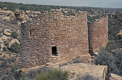 Ruins of Twin Towers (Ron Wolf) Tags: anthropology archaeology hovenweepnationalmonument nationalpark nativeamerican puebloan architecture desert doorway ruins stonework structure tower wall utah