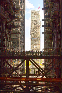 Mobile Launcher from the VAB, variant