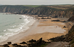 Beach Days (Safarii) Tags: pembrokeshire pembrokeshirenationalpark wales cymru coast coastpath water bay ocean sea seascape landscape beach sand summer musclewick