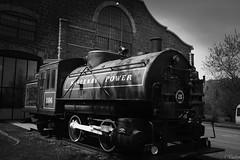 Petit train va loin / Little train goes far (ValMi2012) Tags: train locomotive histoire antique noiretblanc
