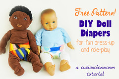 DIY Doll Diapers – Free Pattern + Tutorial! (cucicucicoo) Tags: doll dolls dollie dolly dollies dolldiaper dolldiapers diaper diapers nappy nappies dollnappy dollnappies diydolldiaper diydolldiapers diydollnappy diydollnappies handmadedolldiaper handmadedolldiapers handmadedollnappy handmadedollnappies freepattern freesewingpattern pattern sewingpattern sew sewing fleece velcro