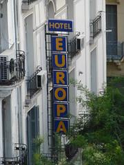 Hotel Europa (skumroffe) Tags: hoteleuropa hotel europa hotell sign skylt thessaloniki greece grekland hellas ellada egnatia