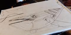 2018 Buskers in the Burg, Workshop (Dennis Valente) Tags: 2018 5dsr usa washington art buskersintheburg giantpuppet workshop drawing design whale pnw ellensburg puppetry puppet