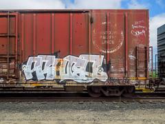 (gordon gekkoh) Tags: freight graffiti car death ftl kadie