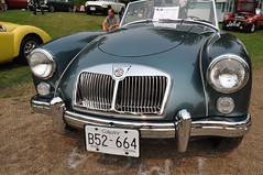 1962 MGA (3) (Gearhead Photos) Tags: jaguar e type mga mgb mgtc mgc gt english cars british delorean mgf xk xj xjs xf v8 ford cortina austin healey morgan plus 4 convertible 120 140 150 waterfront park north vancouver bc canada