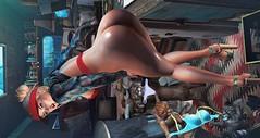 New Moon on Monday (clau.dagger) Tags: teefy equal10 tops secondlife fashion style gos fameshed shoes slingbacks nantra bento back poses ultra drd trailerpark gacha furniture decor sallie bodylanguage jian foxy insol catwa maitreya