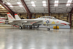 USAF F-14A Tomcat 160684 (Mark_Aviation) Tags: usaf f14a tomcat 160684 f14 a tom cat carrier jet military aircraft fighter bomber