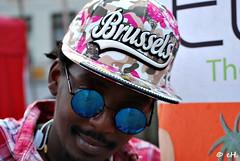 I ♥♥♥ this city, he said (Els Herten) Tags: portrait brussels belgium city cap sunglasses shades mirror natgeofacesoftheworld