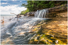 Elliot Falls- revisited (etzel_noble) Tags: minersbeach exploremichigan slowshutterphotography longexposurephotography longexposure michiganupperpeninsula chasingwaterfalls waterfallphotography michigannature naturelovers naturephotography greatlakes lakesuperior landscapephotography michiganlandscape puremichigan michigan munising nature landscape michiganwaterfall waterfall elliotfalls