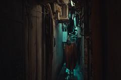 Hidden deep inside Osaka (Laser Kola) Tags: streetphotography streetclassics cyberpunk cybervibe darkcity darkalley rain dystopian bladerunner laserkola lasseerkola fujifilm fujifilmglobal urbanphotography night nightlife darkstreet 35mm citylife citynight mysterious 大阪市 japan osaka moody cinematic