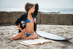 Beautiful Brunette Swimsuit Bikini Surf Girl Model Venus! Malibu Beach  Blue Eyes Swimsuit Model Photoshoot! Nikon D800 E AF-S NIKKOR 70-200mm f/2.8G ED VR II! Pretty Tall Thin Fit Fitness Model Long Legs Abs! American Flag Bikini 45SURF dx4/dt=ic (45SURF Hero's Odyssey Mythology Landscapes & Godde) Tags: beautiful brunette swimsuit bikini surf girl model venus malibu beach blue eyes photoshoot nikon d800 e afs nikkor 70200mm f28g ed vr ii pretty tall thin fit fitness long legs abs american flag 45surf dx4dtic