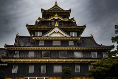 Castle (samstandridge) Tags: japan japanese castle okayama travel sightseeing sam standridge sony alpha a7riii a7r 3 iii clouds