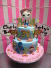 2 tier Sheriff Callie themed cake with 3D topper of Sheriff Cat and edible photo posters of characters on sides (Charly's Bakery) Tags: charlys charlysbakery charliesbakery charleysbakery wickedchocolate bakerycapetown birthdaycake birthdaycakecapetown customcake capetown weddingcakecapetown noveltycake chocolatecake cupcakes celebration cake anniversary sheriff callie topper figurine cat