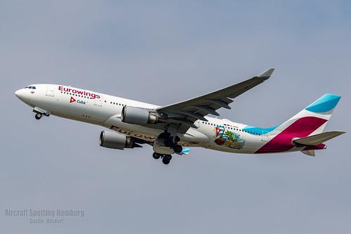 Eurowings Airbus A330-203 D-AXGA