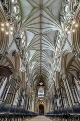Lincoln Cathedral Nave Reversed (Aaron Pack (100,000+ views Thank You x)) Tags: lincoln cathedral architecture nikond7000 tokina 1120 mm