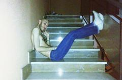 LUPBID12098018DFG4 (Evgenij Nikolaev) Tags: lupin4th male model hot skinny boy hairy blue jeans white socks chest skinhead lascar scally slav alpha master