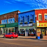 Dunnville  Ontario - Canada -  Downtown Commercial Area - Knowles Restaurant thumbnail