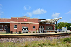 Amtrak - Sedalia Depot (Jim Strain) Tags: jmstrain train railroad railway locomotive diesel station missouri sedalia depot