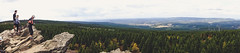 Wolfswarte Harz Panorama (D.ST.) Tags: wolfswarte harz panorama aufgenommen mit der sony dschx60v cyber shoot dsc hx60v wanderung people baüme aussicht view niedersachsen germany deutschland gebirge photoshop lightroom schwenkpanorama schwenk himmel felsen