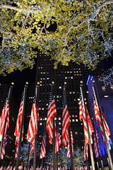 Rockefeller Center, 11.08.16 (gigi_nyc) Tags: election election2016 nyc newyorkcity night nightshots nightphotography