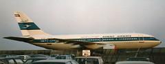 9K-AHK at Hannover (D) May 1985 (chrysanyo) Tags: a310 kuiwait airbus hannover airliner