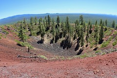 Crater of Lava Butte (daveynin) Tags: newberry volcanic oregon trail crater