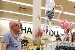 August 24, 2018 (365 Gay #2-10) (gaymay) Tags: california desert gay love palmsprings riversidecounty coachellavalley sonorandesert shopping groceryshopping 365gay flamingos