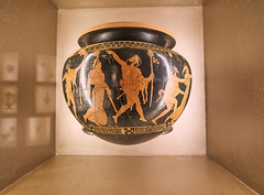 greek krater (harrlojo) Tags: krater ancient greek greece