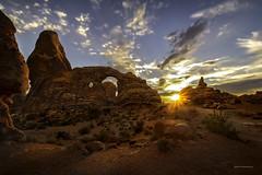 Turret Arch Sunset (McKendrickPhotography.com) Tags: turretarch sunset utah moab archesnationalpark