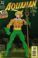 Aquaman 1 1993 (WesternOutlaw) Tags: aquaman aquamancomic dc dccomics atlantis blackmanta arthurcurry