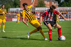 Altrincham FC vs Boston United - August 2018-140 (MichaelRipleyPhotography) Tags: altrincham altrinchamfc altrinchamfootballclub alty ball bostonunited community fans football footy goal header jdavidsonstadium kick mosslane nationalleaguenorth nonleague pass pitch preseason referee robins salfordcity save score semiprofessional shot soccer stadium supporters tackle team vanarama