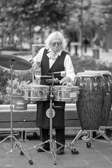 The Drummer (grexsysllc) Tags: nikon nikonphotography blackandwhite blackandwhitephotography blackwhite music drums drummer people watching georgerbrownconventioncenter musician houston houstontexas