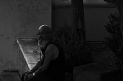 Time   !!! (imagejoe) Tags: vegas nevada strip street black white photography photos shadows reflections tamron people