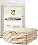 #survival Cheesecloth – 45 Sq Feet: Grade 50 – 100% Unbleached Cotton – Filter – Strain – Reusable (5 Yards, 50 Weight) #prepping (New Great Depression) Tags: my reading list read unread survival prepping