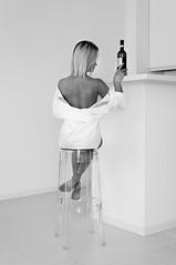 Room (en_tatka) Tags: pentaxart girl woman room vine chair studio beauty beautiful pajamas dress blonde