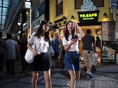 Girl! (takana1964) Tags: streetphotography streetsnap streetshot snap street snapshot cityphotography citysnap citystreet city osakacity japan olympus