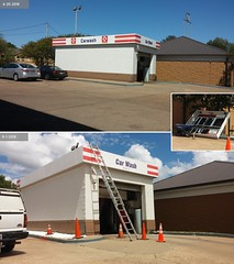 Car Washed (Retail Retell) Tags: shell gas fuel station remodel canopy refresh circle k convenience store car wash center hernando ms commerce street desoto county retail update new look 2018 branded reremodel bland brown beige tan boring classy upscale forgettable reskin